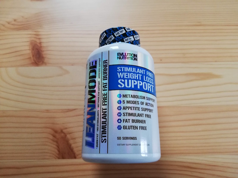 脂肪燃焼のサプリメント、EVLution Nutrition『Lean Mode』のボトル