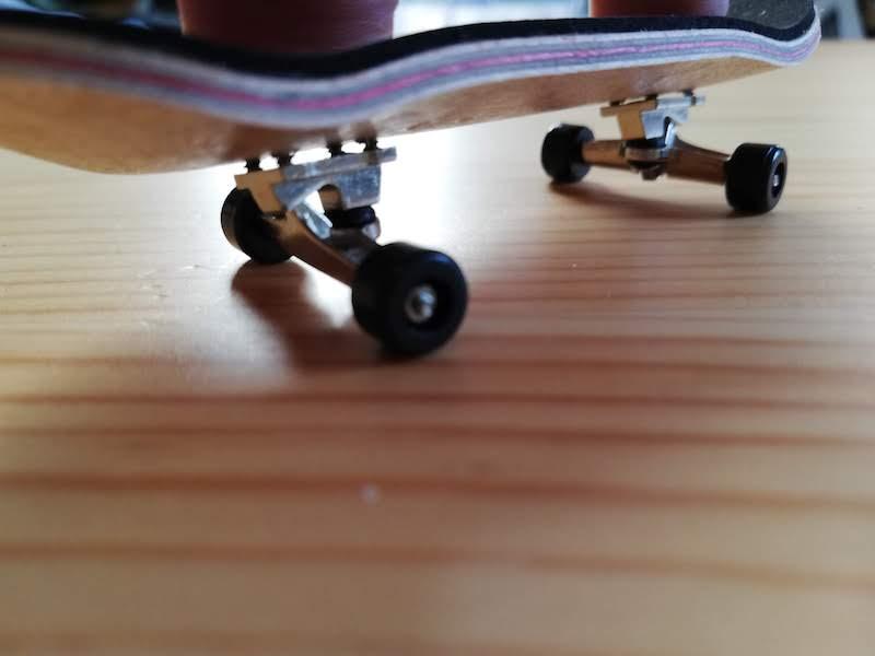フィンガースケートボードのイマイチな点
