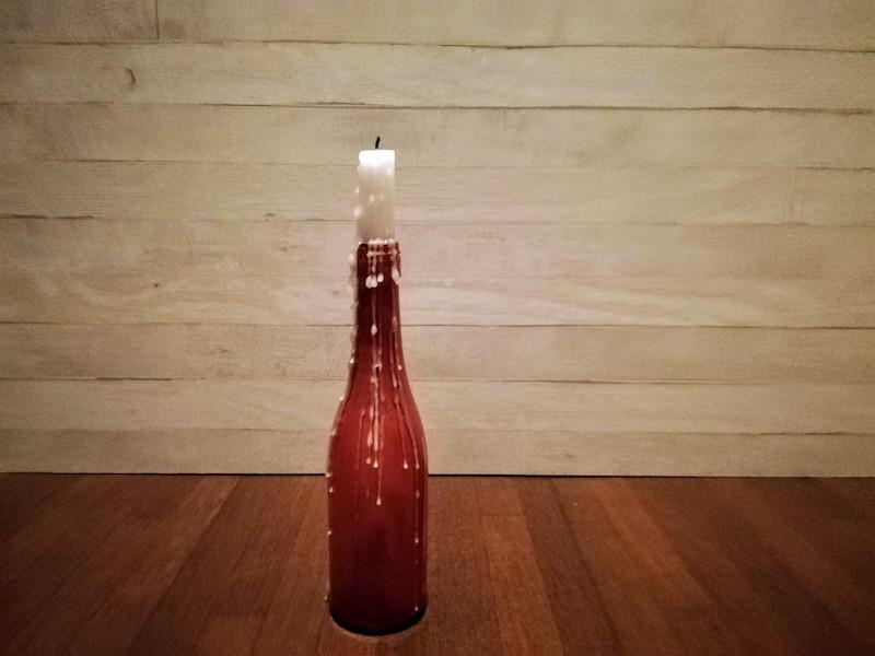 ワインキャンドルホルダー