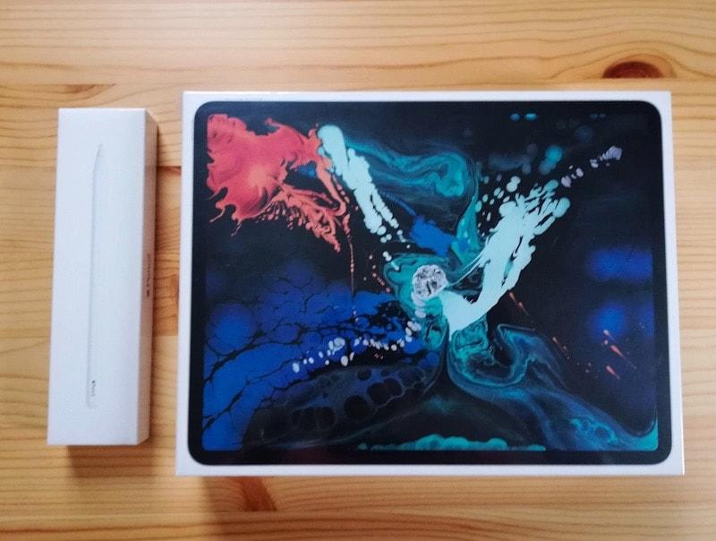 iPad ProとApple Pencil2