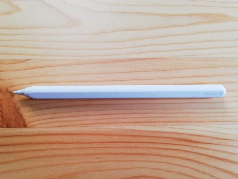 Apple Pencilのシリコン保護ケースの装着