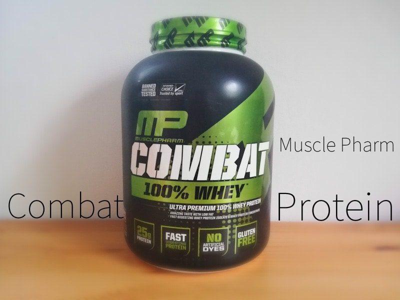 MusclePharmのプロテイン『COMBAT チョコレートミルク味』