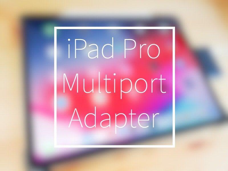 iPad Proに使う2000円のUSB-cハブ