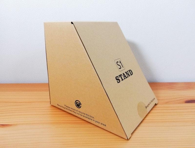LamicallのiPad用スタンドの箱の外観
