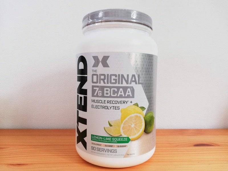 xtendのBCAAsのレモンライム味