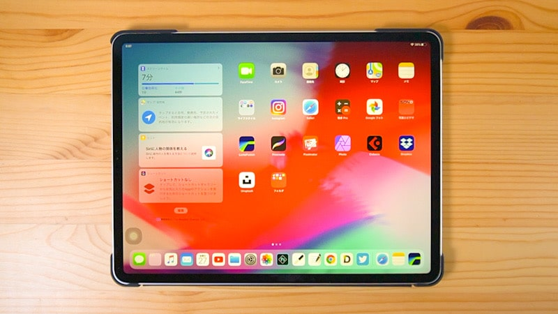 iPad ProにiPadOS