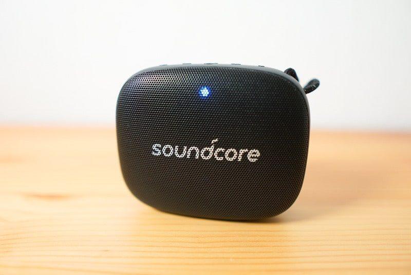 Soundcore Icon Miniのオンのランプ