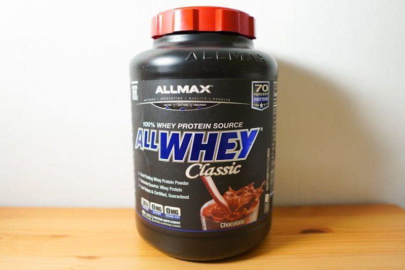 ALLMAX ALL WHEY classic チョコレート味 ボトル
