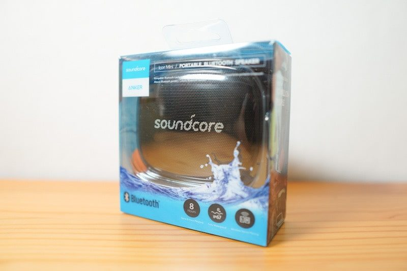 Soundcore Icon Miniの箱