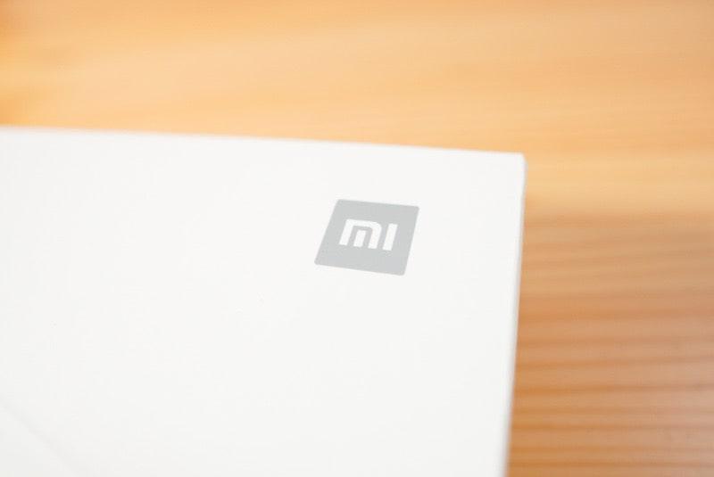 Xiaomiのスマートスケール(体組成計)の箱