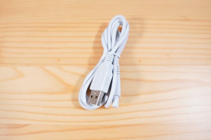 口腔洗浄器のジェットウォッシャーのUSB充電ケーブル