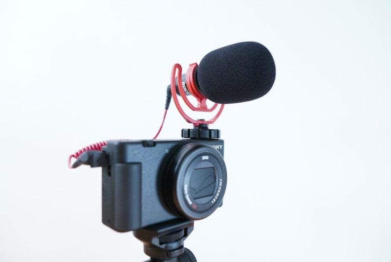 ZV-1にRODEのVideoMicro