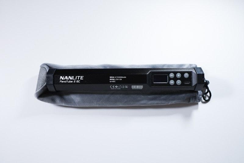 NANLITEの『PavoTube Ⅱ 6C』の裏面