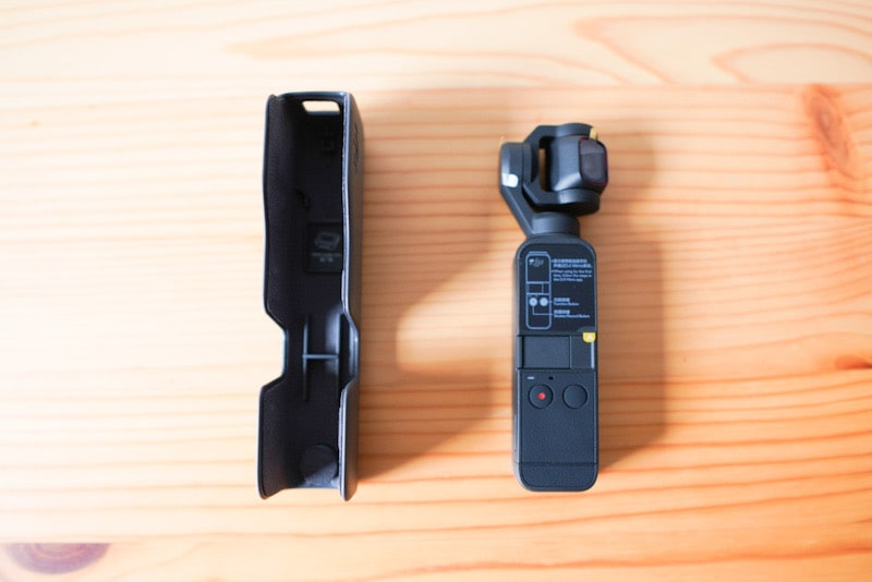 DJI Pocket2の本体とカバー