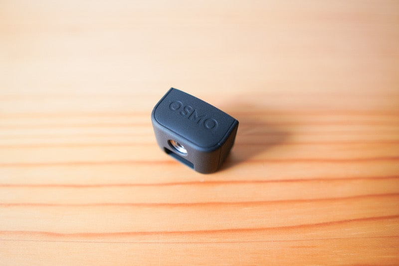 DJI Pocket2の底のアダプター